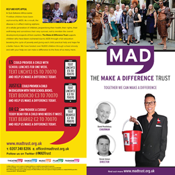 MAD – The Make a Difference Trust