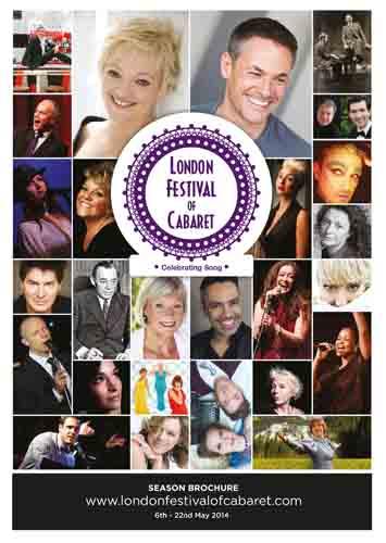London Festival of Cabaret Brochure 2014