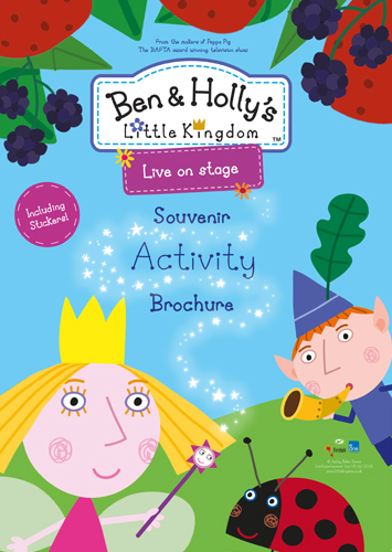Ben and Holly Live on Stage Tour Brochure 2015