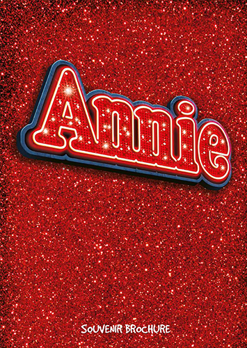 ANNIE THE MUSICAL TOUR BROCHURE