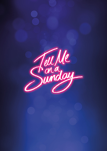 Tell Me On A Sunday – Tour Brochure