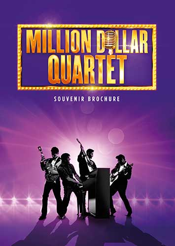 Million Dollar Quartet Brochure