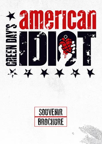 American Idiot Tour Brochure