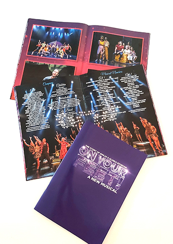 ON YOUR FEET – LONDON & TOUR BROCHURE